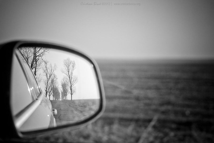 Drive until you see no one in your mirror